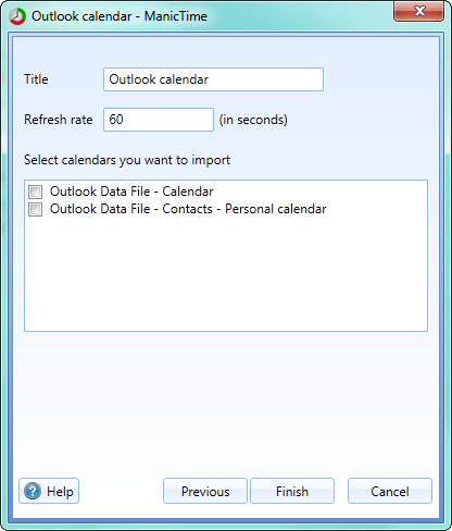 Outlook calendar timeline – ManicTime Support