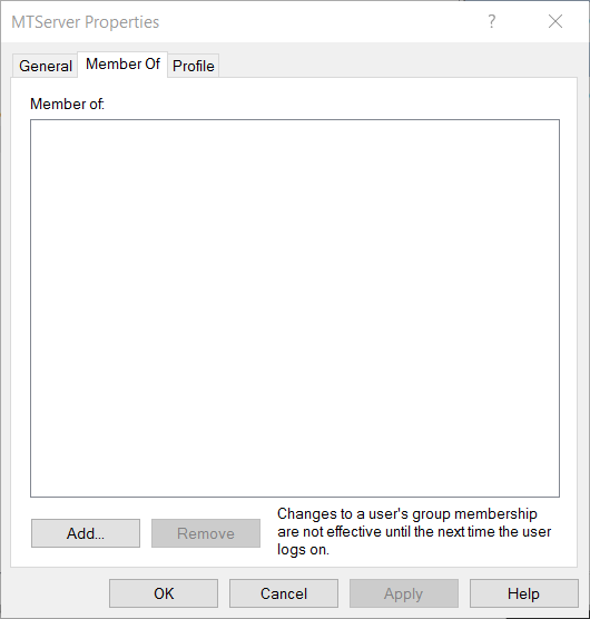 User type - Windows users – ManicTime Support